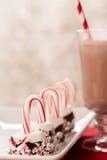 蛋白软糖棒棒糖圣诞节好吃的东西 免版税库存图片