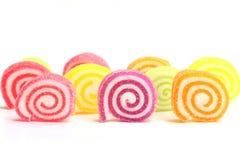 蛋白软糖用凝胶甜点 库存图片