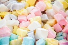 蛋白软糖立方体 免版税库存照片