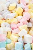 蛋白软糖立方体 免版税图库摄影