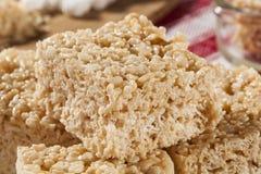 蛋白软糖酥脆米款待 库存图片