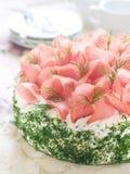 蛋糕三明治 免版税库存图片