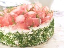 蛋糕三明治 免版税库存照片