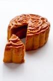 蛋糕中国人月亮 免版税库存图片