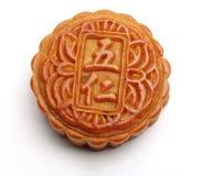 蛋糕中国人月亮 图库摄影