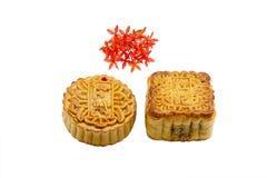 蛋糕中国人月亮 库存照片