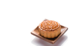 蛋糕中国人著名食物月亮 库存照片