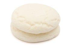 蛋糕中国糖白色 库存图片