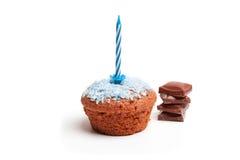 蛋糕为生日快乐 库存照片