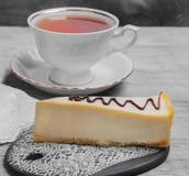 蛋糕乳酪蛋糕经典之作纽约 库存照片