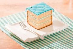 蛋糕例证 免版税库存照片