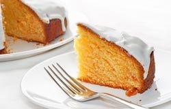 蛋糕冰了 免版税库存照片