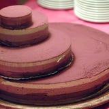 蛋糕分层堆积tiramisu 库存图片