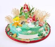 蛋糕动画片 免版税库存图片