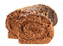 蛋糕卷 免版税库存图片