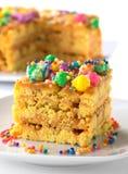 蛋糕叫秘鲁turron 库存照片