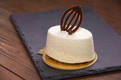 蛋糕可口白色 库存照片