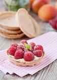 蛋糕可口莓 免版税库存照片