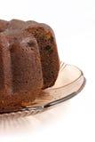 蛋糕可可粉 免版税库存图片