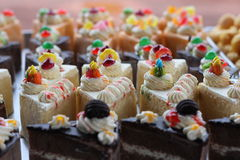 蛋糕味道 免版税图库摄影