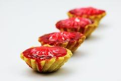 蛋糕和曲奇饼 免版税图库摄影
