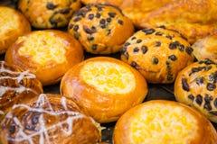 蛋糕和面包店 免版税库存照片