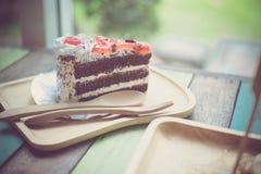 蛋糕咖啡馆 免版税库存图片
