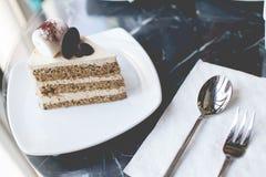 蛋糕咖啡馆 免版税库存照片