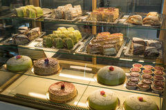 蛋糕商店 免版税库存图片