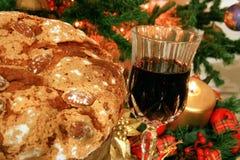 蛋糕圣诞节意大利语 免版税图库摄影
