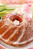 蛋糕复活节环形 免版税库存图片