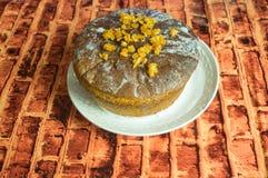 蛋糕复活节俄语 库存照片