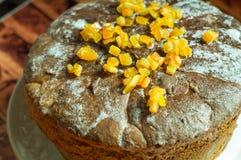 蛋糕复活节俄语 免版税库存图片