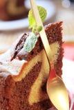 蛋糕大理石 库存照片
