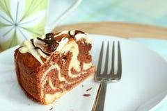 蛋糕大理石 图库摄影