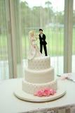 蛋糕婚礼 库存照片