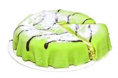 蛋糕小杏仁饼 库存照片