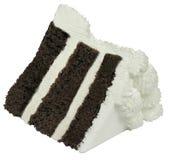 蛋糕巧克力片式 库存照片