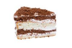 蛋糕巧克力片 免版税图库摄影