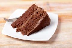蛋糕巧克力牌照 库存照片