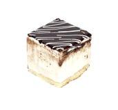 蛋糕巧克力牛奶 库存图片