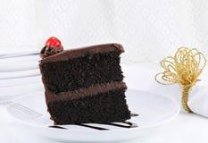 蛋糕巧克力软糖 免版税库存图片