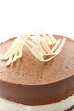 蛋糕巧克力鼠标 免版税图库摄影