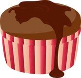 蛋糕巧克力 库存例证