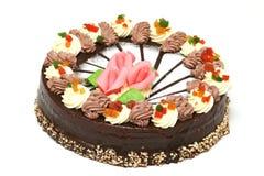 蛋糕巧克力 免版税图库摄影