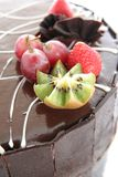 蛋糕巧克力 库存照片