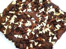 蛋糕巧克力 免版税库存图片