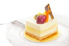 蛋糕干酪 图库摄影