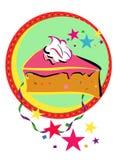 蛋糕庆祝 皇族释放例证