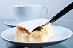 蛋糕拿破仑 免版税图库摄影